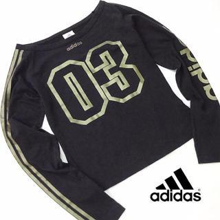 アディダス(adidas)の美品!! adidas アディダス レディース ロングスリーブシャツ  N94(Tシャツ(長袖/七分))
