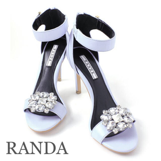 ランダ(RANDA)の⭐︎RANDA フラワービジュー シューズクリップ⭐︎(その他)