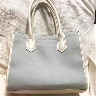 ジーユー(GU)の美品❁GU デニムハンドバッグ   (ハンドバッグ)