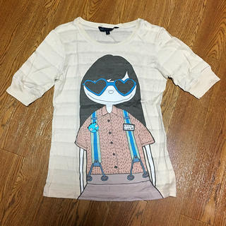 マークバイマークジェイコブス(MARC BY MARC JACOBS)のミスマーク✳︎五分丈Tシャツ(Tシャツ(長袖/七分))