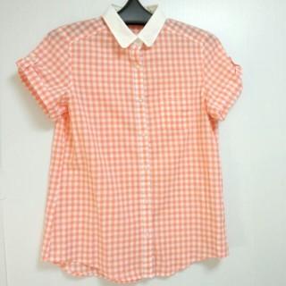 ジーユー(GU)のギンガムシャツ(シャツ/ブラウス(半袖/袖なし))
