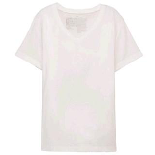 ムジルシリョウヒン(MUJI (無印良品))の[VERY オトナミューズ掲載] 無印良品 VネックTシャツ ホワイト M(Tシャツ(半袖/袖なし))