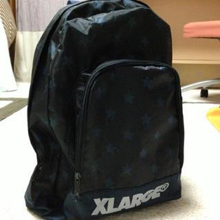 エクストララージ(XLARGE)のX-LARGE 星柄ナイロンリュック(リュック/バックパック)