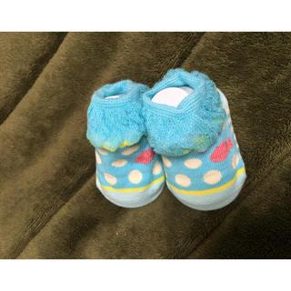 キッズズー(kid's zoo)の新品未使用☆キッズズー★ベビーソックス 9-11サイズ(靴下/タイツ)