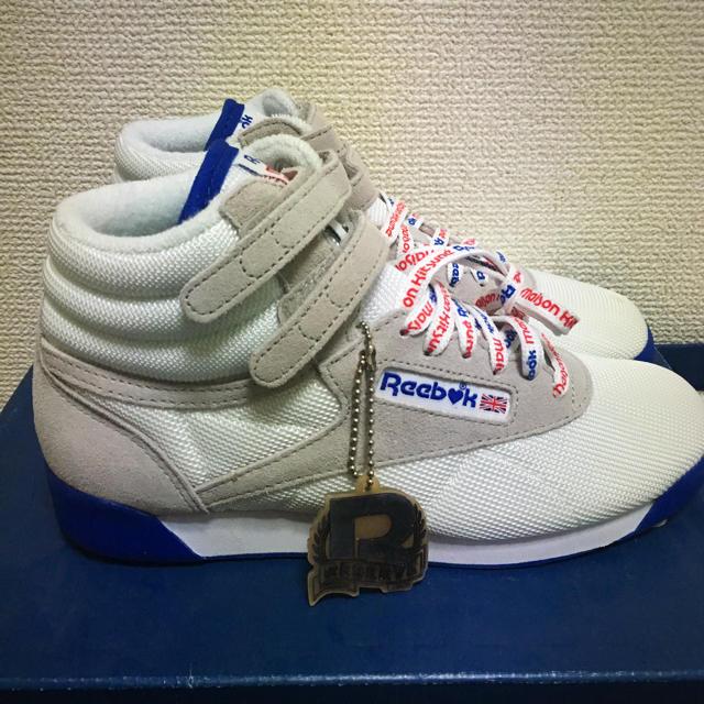 MAISON KITSUNE'(メゾンキツネ)のReebook Classic×MAISON KITSUNE レディースの靴/シューズ(スニーカー)の商品写真
