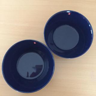イッタラ(iittala)の新品☆ イッタラ ティーマ ボウル ブルー 15 cm 2個セット 廃盤(食器)