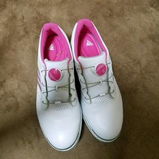 アディダス(adidas)のアディダス ゴルフ シューズ 23.5(シューズ)