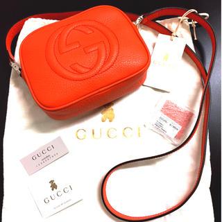 グッチ(Gucci)の最終SALE☆新品☆GUCCI☆正規品 SOHO レザーショルダーバッグ(ショルダーバッグ)