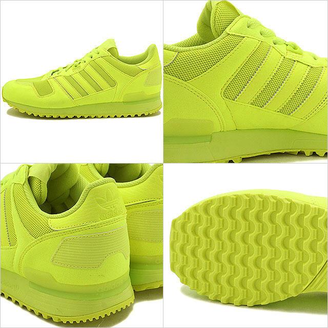 adidas 蛍光スニーカー