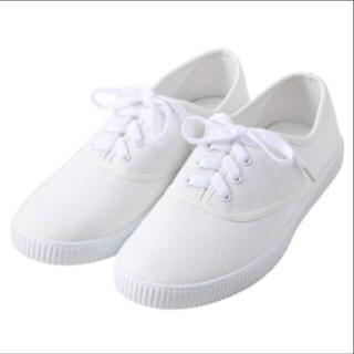 ムジルシリョウヒン(MUJI (無印良品))の白 スニーカー 無印良品(スニーカー)