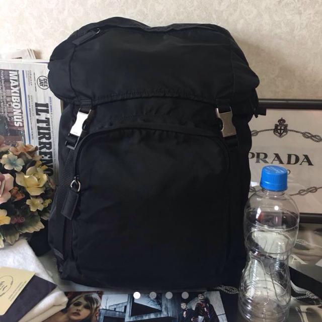 48aa337ab288 PRADA - ◇にゃーんさこ様専用◇プラダ ナイロン リュック ブラック V135 ...