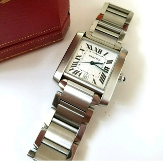 カルティエ(Cartier)のclare様専用★Cartier★タンクフランセーズ LMサイズ 美品(金属ベルト)