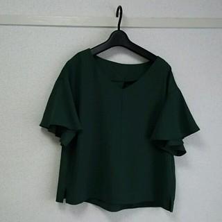 ジーユー(GU)のGU   トップス(カットソー(半袖/袖なし))