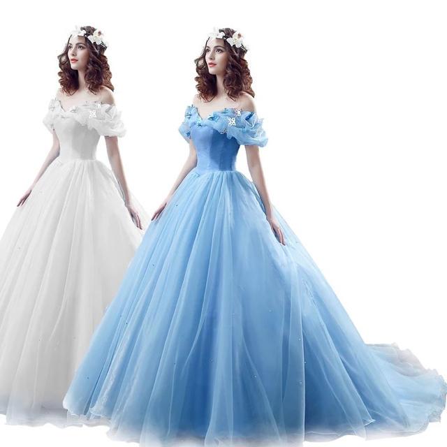 728b59f239543 シンデレラドレス オーダーメイド カラードレス お色直し レディースのフォーマル ドレス(ウェディングドレス