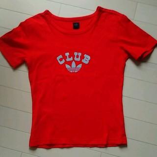 アディダス(adidas)のadidas 半袖Tシャツ サイズ36(S)(Tシャツ(半袖/袖なし))