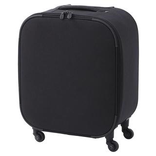 ムジルシリョウヒン(MUJI (無印良品))の無印良品 キャリーバーの高さを調節できるストッパー付ラウンド四輪ソフトキャリー(スーツケース/キャリーバッグ)