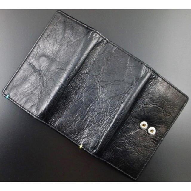 Paul Smith(ポールスミス)の1点限り 新品箱なし ポールスミス 上質山羊革使用 4連キーケース 黒 メンズのファッション小物(キーケース)の商品写真