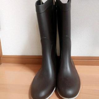 ファビオルスコーニ(FABIO RUSCONI)のお値下げファビオルスコーニレインブーツ39ブラウン(レインブーツ/長靴)