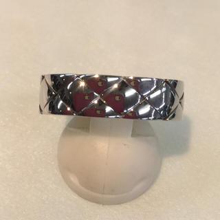 シャネル(CHANEL)の美品❣️シャネル マトラッセ 18KWG リング(リング(指輪))