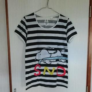 スヌーピー(SNOOPY)のスヌーピー Tシャツ(Tシャツ(半袖/袖なし))