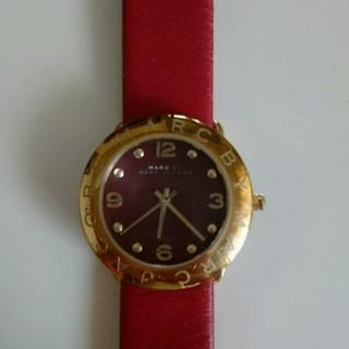 マークバイマークジェイコブス(MARC BY MARC JACOBS)のジャスミン様専用  マークバイマークジェイコブスの腕時計  レッド(腕時計)