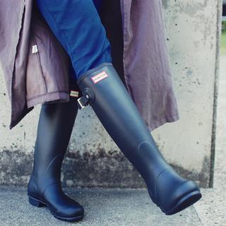 ハンター(HUNTER)のhunterブーツ新品!今週値下げ(レインブーツ/長靴)