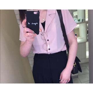 ハレ(HARE)のピンクシャツ(Tシャツ(半袖/袖なし))