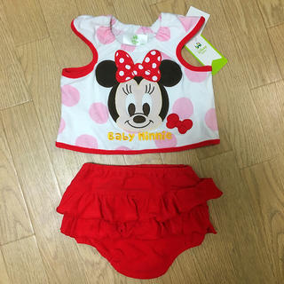ディズニー(Disney)のDisney ミニーちゃんの子ども服(タンクトップ/キャミソール)