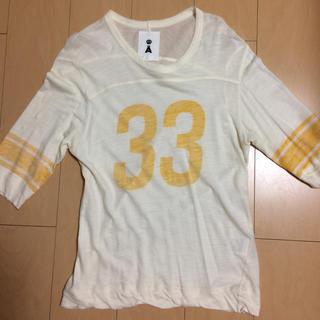 エィス(A)のエィス七分袖Tシャツ(Tシャツ/カットソー(七分/長袖))