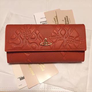 ヴィヴィアンウエストウッド(Vivienne Westwood)の新品未使用     正規品 Vivienne ヴィヴィアン 型押し 長財布(財布)