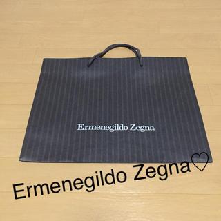 エルメネジルドゼニア(Ermenegildo Zegna)のErmenegildo Zegna☆ショッパー(ショップ袋)