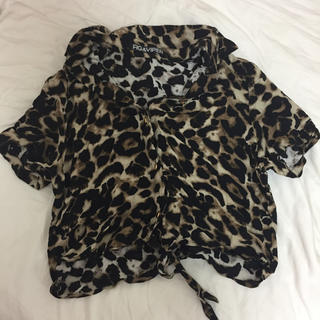 フィグアンドヴァイパー(FIG&VIPER)のfig&viper ヒョウ柄開襟シャツ 🐆(シャツ/ブラウス(半袖/袖なし))