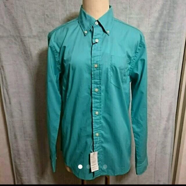 新品 トミー Tommy ワイシャツ メンズM グリーン メンズのトップス(シャツ)の商品写真