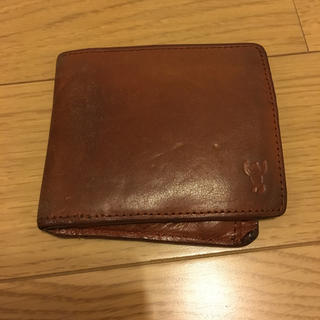 コーエン(coen)の値下げ 折りたたみ財布 本革 コーエン 財布 二つ折り(財布)