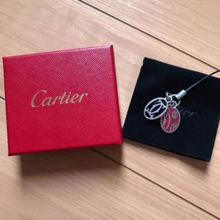 カルティエ(Cartier)のカルティエ 携帯ストラップ(ストラップ/イヤホンジャック)