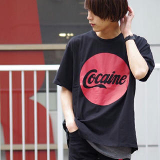 """ラッドミュージシャン(LAD MUSICIAN)のLAD MUSICIAN×lui's BIGTシャツ """"cocaine""""(Tシャツ/カットソー(半袖/袖なし))"""