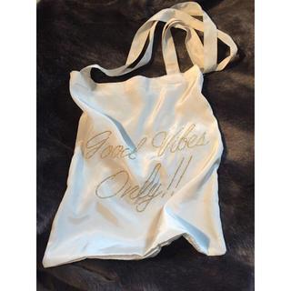 スタイルナンダ(STYLENANDA)のsatin tote bag(トートバッグ)