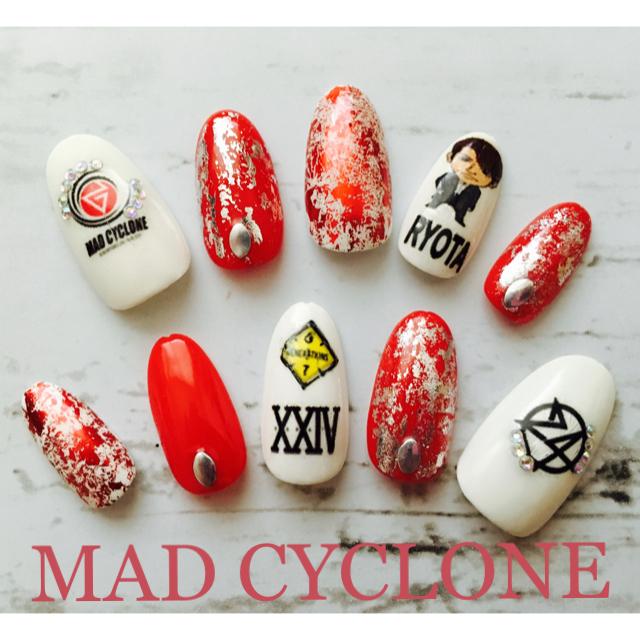 24karats(トゥエンティーフォーカラッツ)のGENE MAD CYCLONE2017 nail♡ コスメ/美容