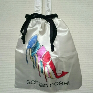 セルジオロッシ(Sergio Rossi)の付録セルジオロッシ☆サテン?トートバッグ(トートバッグ)
