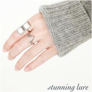 スタニングルアー(STUNNING LURE)のスタニングルアー シルバーvリング (リング(指輪))