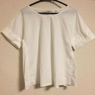 ルメール(LEMAIRE)のAライン ホワイトトップス(シャツ/ブラウス(半袖/袖なし))