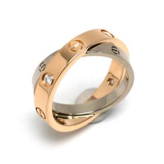 カルティエ(Cartier)のカルティエ⭐️浜崎あゆみ着用⭐️ラブリング⭐️2連⭐️(リング(指輪))