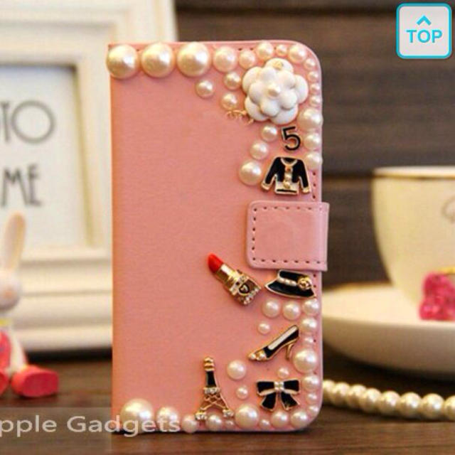 CHANEL風💓iPhone5カバーの通販 by pn's shop|ラクマ