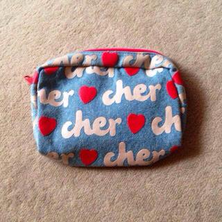 シェル(Cher)の新品☆cherポーチ(ポーチ)