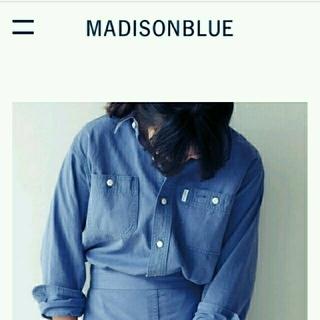 マディソンブルー(MADISONBLUE)の☆あやさん様専用☆  マディソンブルー  ヘリンボーンシャツ  01(シャツ/ブラウス(長袖/七分))