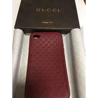 グッチ(Gucci)のGUCCI(グッチ)iPhone4/4S アイフォン シリコンケース(モバイルケース/カバー)