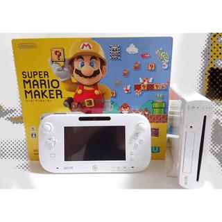 ニンテンドウ(任天堂)のWIiU 本体 コントローラー Wiiリモコンプラス WIiUソフト おまけ付き(家庭用ゲーム本体)