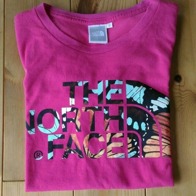THE NORTH FACE(ザノースフェイス)のノースフェイス Tシャツ ピンク レディース レディースのトップス(Tシャツ(半袖/袖なし))の商品写真