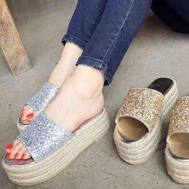 ゆん様専用 レディースの靴/シューズ(サンダル)の商品写真