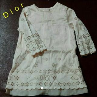 ベビーディオール(baby Dior)のディオールのベビードレス 50 60(セレモニードレス/スーツ)
